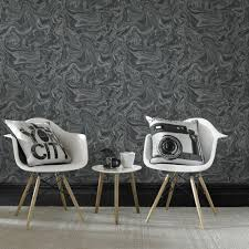 graham u0026 brown black and gray marbled removable wallpaper 100518