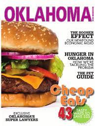 Burger K Hen 2014 November Oklahoma Magazine By Oklahoma Magazine Issuu