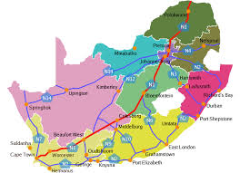 a picture of south africa map road map of south africa how not to get lost
