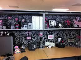 Desk Decoration Ideas Interior Design Scrapbook Paper Cubicle Wall Cover Cubicle