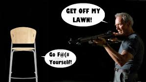 Get Off My Lawn Meme - get off my lawn clint eastwood s empty chair speech eastwooding