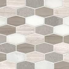 Hexagon Backsplash Tile by Shape Up Your Style With Europa Elongated Hexagon The Jumbo