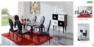 furniture enchanting red modern dining room chairs dark wood