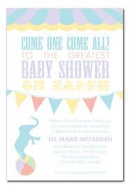 circus baby shower baby shower circus baby shower invitations by invitation