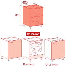porte caisson cuisine meuble caisson bas largeur 60 vial menuiserie cuisine jardin