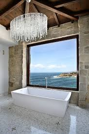 Modern Bathroom Chandeliers 25 Sparkling Ways Of Adding A Chandelier To Your Bathroom