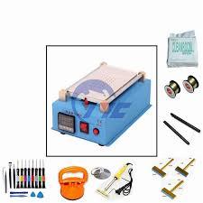 blue build in vacuum pump lcd separator touch screen repair