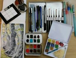 watercolor sketchbook and kit u2014 the art of kat g birmelin