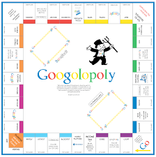 Monopoly Map Download And Print Google Monopoly Board Game Googolopoly