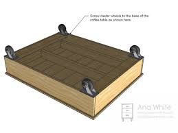 coffee table dimensions build a factory cart coffee table hgtv