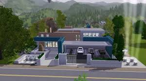 sims 3 pool u0026 fitness centre no c c community lot modern youtube