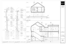 House Drawing by The Cabin Project Technical Drawings Life Of An Architect
