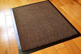 Felt Area Rugs Felt And Rubber Rug Pad Or For Hardwood Floor Brown Wooden