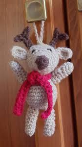 ravelry crochet reindeer ornament pattern by loops threads