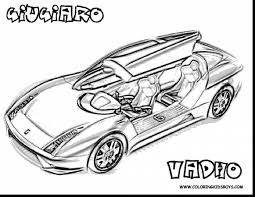 incredible car coloring pages kids printable with boy coloring