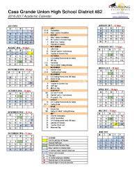 casa grande union high school yearbook 2016 2017 district calendar casa grande union high school
