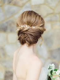 chignon mariage idée chignon mariage coiffure en image