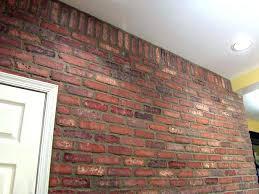 interior brick veneer home depot interior brick veneer brick veneer wall after lg interior brick