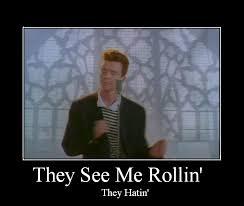 Rick Roll Memes - rick roll d original by zatchdx on deviantart