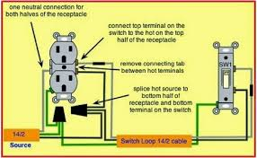 electrical engineering world how to wire outlet to switch