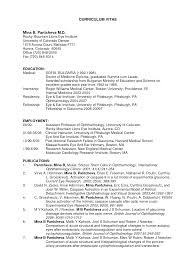 sample resume in usa resume for your job application