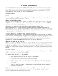 Appropriate Font Size For Resume Elementary Education Resume Best Resume Collection Related For 5
