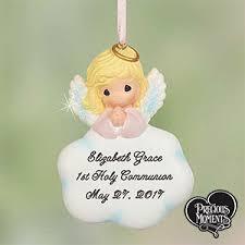 communion christmas ornament personalized communion ornament girl angel
