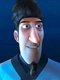 astroboy hair astro boy trailer even in animated film nic cage s hair a bit