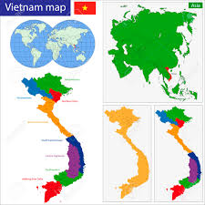 Blank Map Of Vietnam by Map Of Vietnam Stock Photos Royalty Free Map Of Vietnam Images