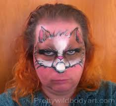 halloween kitty face grumpycat grumpy cat cute pretty wild body art face painter body