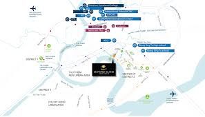 Saigon On World Map by Diamond Island Hcmc Propnex International