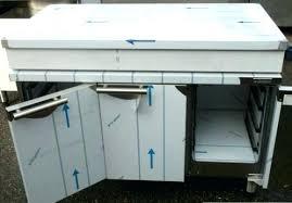 meuble cuisine inox plan de travail exterieur meuble cuisine exterieur inox