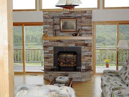 stacked slate fireplace best 10 stacked stone fireplaces ideas on