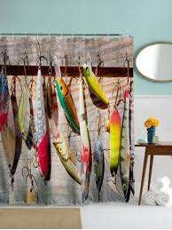 Fishing Shower Curtains 2018 Fish Shower Curtain Store Best Fish Shower Curtain