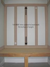 Home Plans With Mudroom by Do It Yourself Mudroom Locker Board And Batten Mudroom Bench