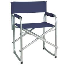 Stylish Folding Chairs Home Accessories Awesome Blue Directors Chair Cover For Metal