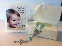 christening favors baptism christening favors photo mini rosary box