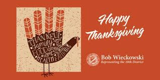 happy thanksgiving senator bob wieckowski