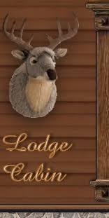Deer Themed Home Decor Lodge Cabin Log Cabin Themed Bedroom Decorating Ideas Moose