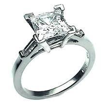 unique princess cut engagement rings engagement rings platinum engagement rings antique