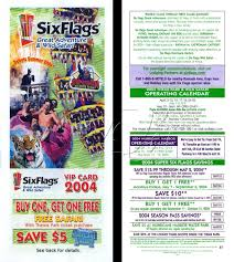 Six Flags Email Six Flags Great Adventure Funseeker Cards