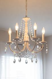 How To Make A Beaded Chandelier Diy Crystal Chandelier Easy Tutorial