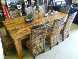 image of wood slab dining table top live edge slab dining room
