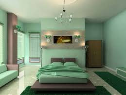 Bedroom Wall Paint Combination Apartment Bedroom Yellow Green Wall Paint Combination In Modern