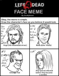 Shocked Face Meme - l4d faces meme by lonnkev on deviantart