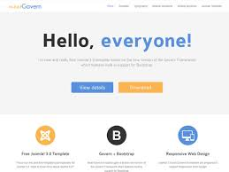 building e commerce website with free joomla template
