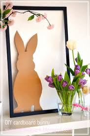 Easter Bunny Decorations Printable by Diy Easter Bunny Decorations Tutorial Free Printable Bunny