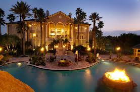 awesome house with a fire pit in the pool description from