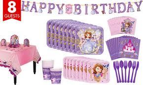 sofia the birthday party sofia the party supplies sofia the birthday ideas