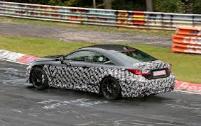 lexus sports car rc lexus spied testing hotter rc f model on the nurburgring